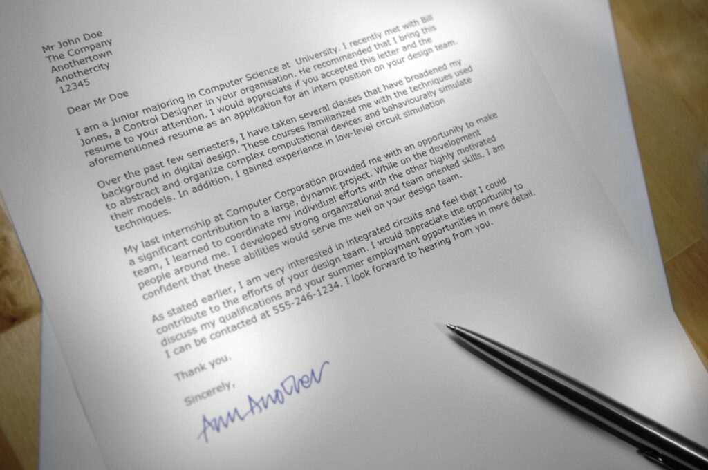 how long should a cover letter be