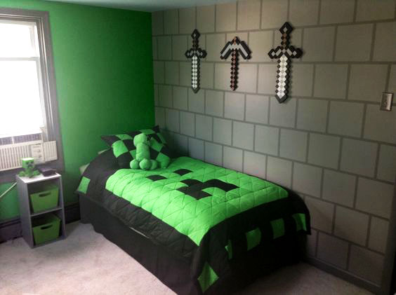 Make A Painting Minecraft Bed
