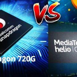 helio g95 vs snapdragon 720g