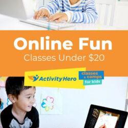 Online Activity Classes